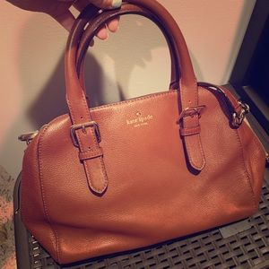 Kate Spade ♠️ vintage brown bag